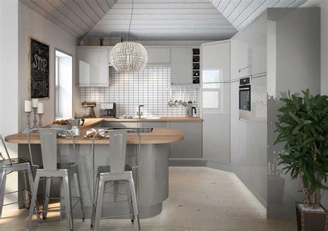 cucina e grigia cucina grigia idee suggerimenti di armonia ed eleganza