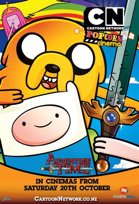 misteri film adventure time movie poster for adventure time fun with finn jake