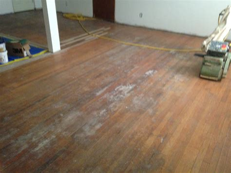red oak wood flooring refinishing in englewood
