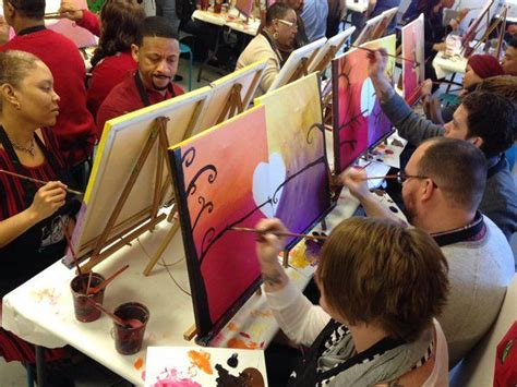 paint nite for couples 17 best images about lesson ideas on wine