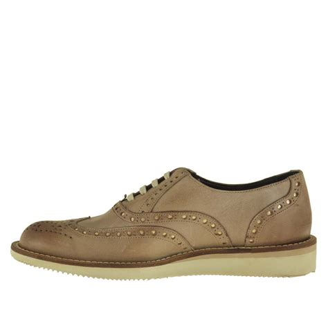 Comfortable Shoes by Comfortable Lace Up Shoe With Wedge In Earth Tone