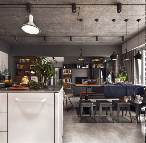 industrial dining room industrial style dining room design the essential guide interior design ideas howldb