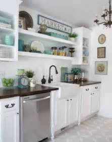 Kitchen Shelves And Cabinets by Open Kitchen Shelving Display Tips Home Decorating Blog