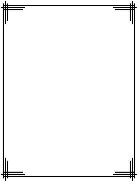design html frames art deco corner border art deco borders clipart clipart