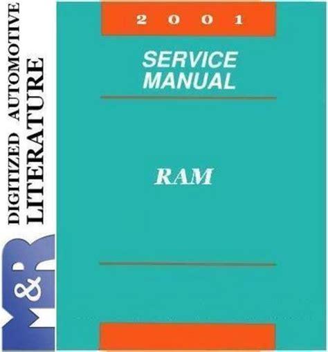 2001 dodge ram factory service repair manual download manuals am 2001 dodge ram 1500 2500 3500 service shop manual download