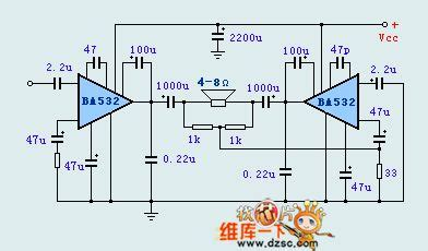 Ic Ba532 index 42 audio circuit circuit diagram seekic