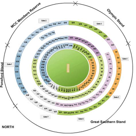 what is the seating capacity of the mcg melbourne cricket ground seating map mcg austadiums