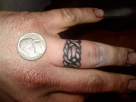 16 celtic tattoos design on finger