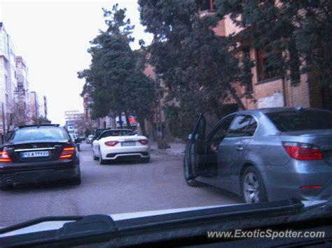 maserati iran maserati grancabrio spotted in mashhad iran on 04 02 2013