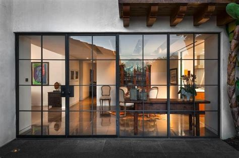 Love The Steel Frame Glass Doors Door Styles Metal Framed Glass Doors