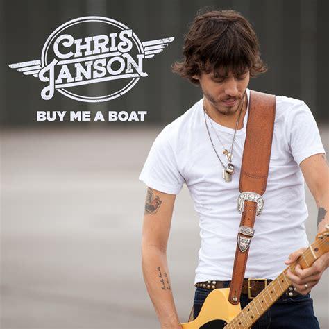 chris janson makes a big splash at country radio - Buy A Boat Chris Janson