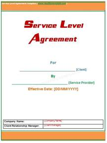 help desk service level agreement template microsoft word templates
