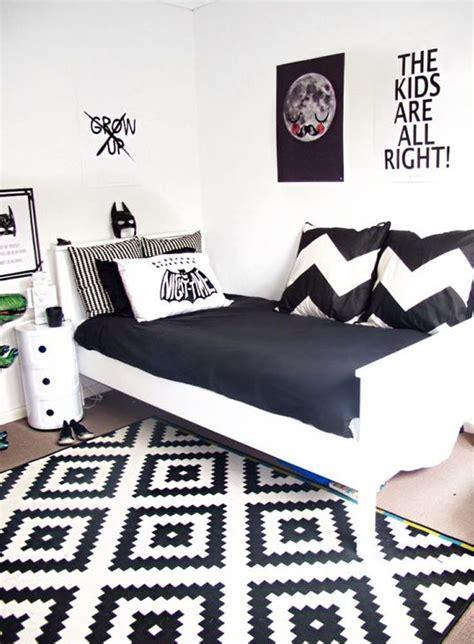 design gambar dinding kamar hitam putih 18 model desain kamar tidur hitam putih terbaru 2018