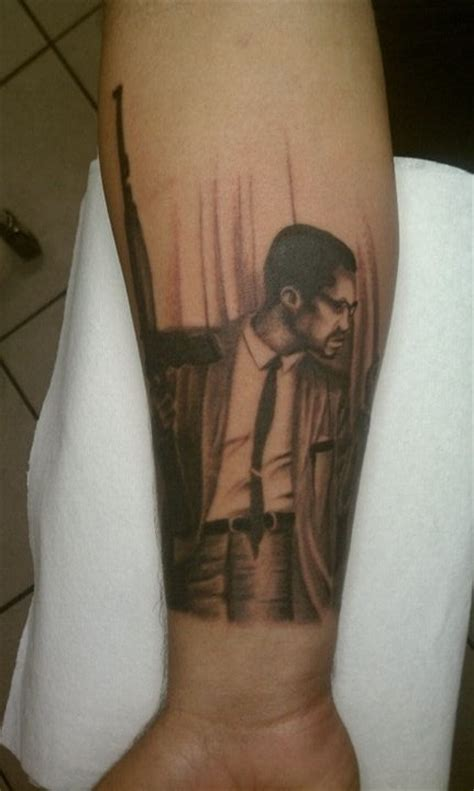 by any means necessary tattoo malcolm x pictures to pin on