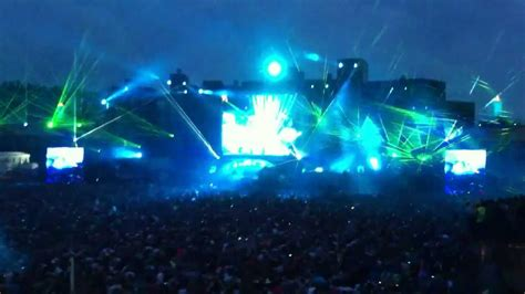 Amazing Light Show Of Skrillex Tomorrowland 2012 Skrillex Light Show