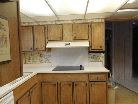 Mobile Home Kitchen Makeover by The Farmer S Mobile Home Makeover