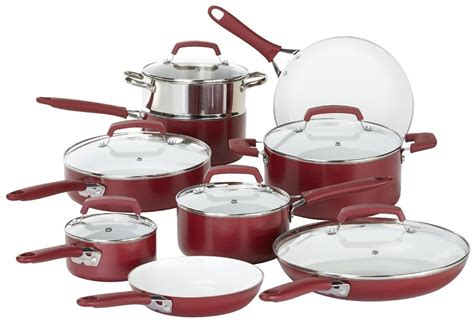 Best Kitchen Pots And Pans by Best Ceramic Cookware Top 5 Nonstick Sets