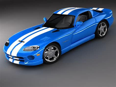 dodge sports car dodge viper gts sports car 3d max