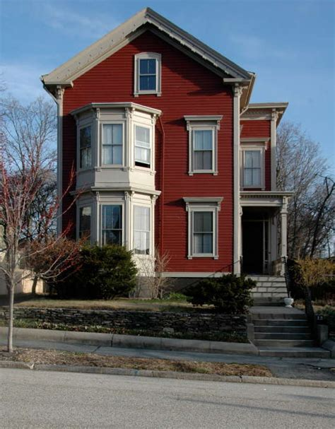 bay window houses house with two story bay window providence rhode island