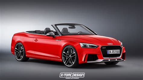 new audi rs5 2018 2018 audi rs5 cabriolet rendered autoevolution