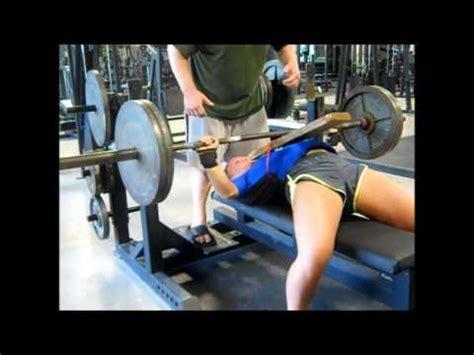 165 bench press talor parker 165 teen bench press training uspa ntls