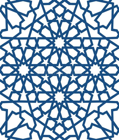 islamic web pattern blue islamic pattern seamless arabic geometric pattern