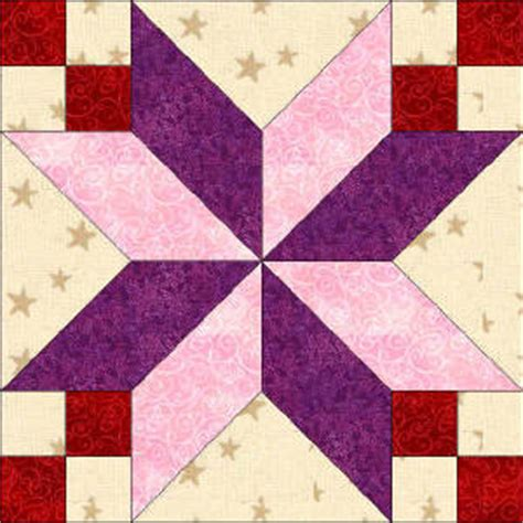 50 states kentucky free star quilt block pattern