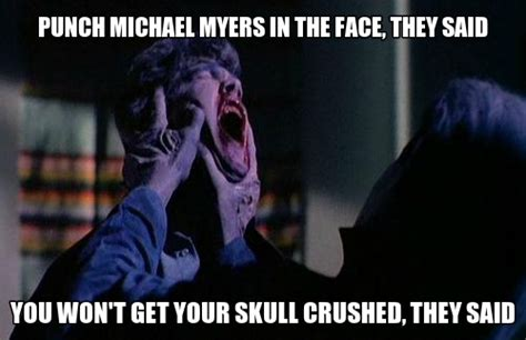 Michael Myers Memes - halloween caverns of blood halloween and horror games
