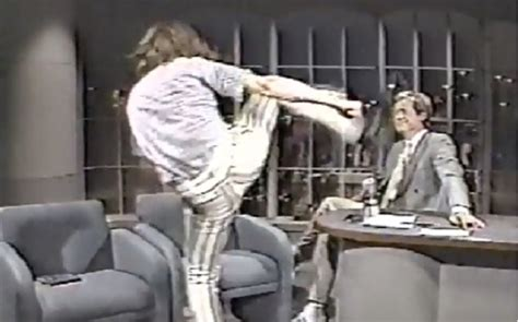 crispin glover on johnny carson david letterman s 5 most confrontational interviews