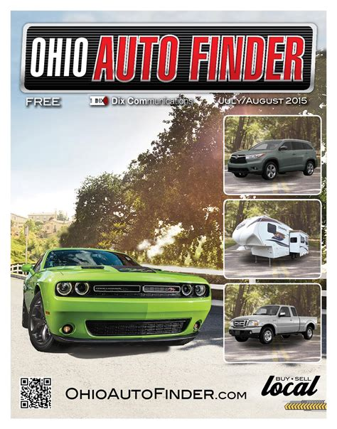 Auto Finder by Ohio Auto Finder July August 2015 By Dix Communications
