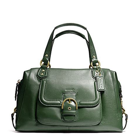 Tas Coach Crosby Mini Green coach f25151 120 cbell leather large satchel