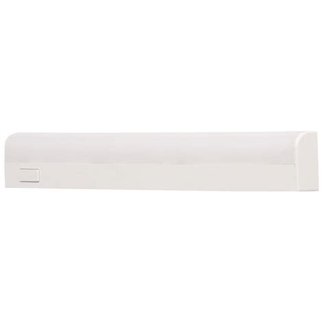 Commercial Electric Cabinet Lighting by Commercial Electric 10 In White Battery Operated Led