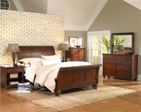 aspen cambridge bedroom set aspen cambridge sleigh bedroom asicb 40 1