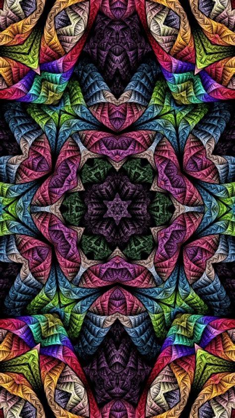 wallpaper iphone 5 psychedelic 640x1136 psychedelic fractals iphone 5 wallpaper