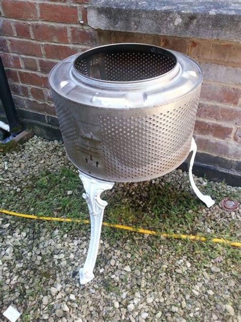 Washing Machine Firepit 25 Best Ideas About Drum Machine On Washing Machine Drum Washing Machines And