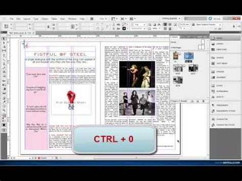 Indesign Tutorial Advanced | indesign tutorial 4 advanced master pages youtube