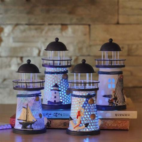 Nautical Decorations Uk by New Nautical Themed Lighthouse L Table Electrical Led