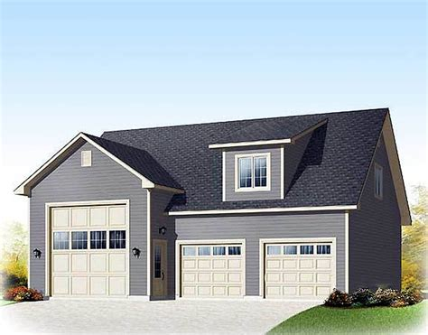 House Plans With Rv Storage by Two Bays Plus Rv Storage 21944dr Architectural Designs