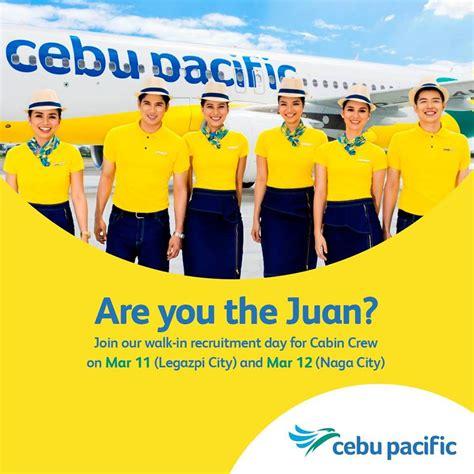 cabin crew hiring cebu pacific air cabin crew hiring legazpi city naga