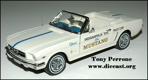 Franklin Mint 1 24 1964 Ford Mustang Convertible Indy 500