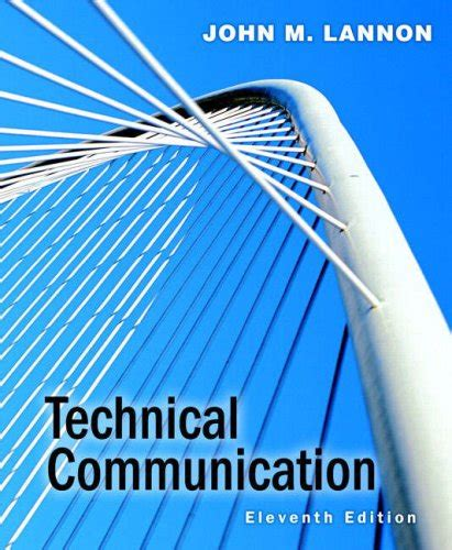 Pdf Technical Communication 13th Lannon by M Lannon Author Profile News Books And Speaking