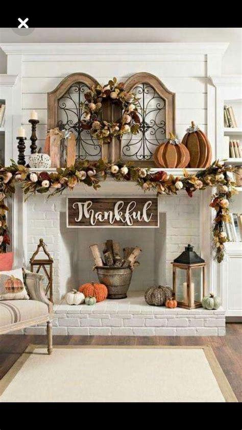 elegant fall mantel decor ideas   fall food