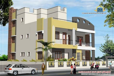 unique stylish trendy indian house elevation kerala north indian house designs photos