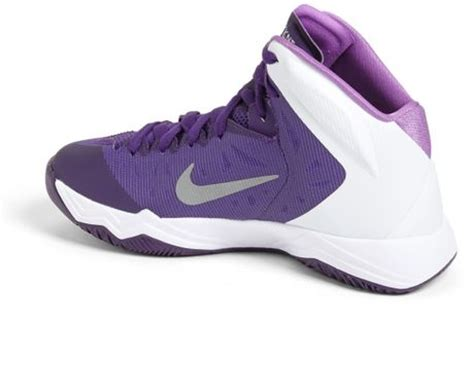 nike basketball shoes hyper quickness nike hyper quickness tb basketball shoe in purple court