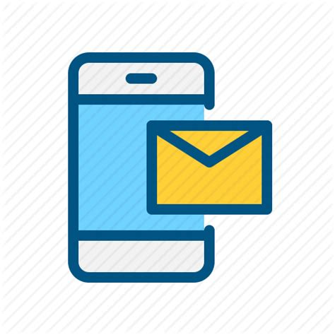 mobile mail mobile application icons by souvik bhattacharjee phone