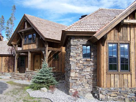 timber frame house like the vertical siding rustic feel bavarian stone