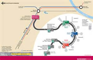 New York Newark Airport Map by Newark Airport Ewr Newark International Airport