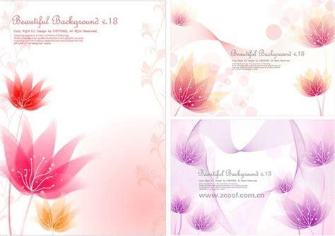 desain kartu ucapan bunga motif bunga desain undangan contoh desain undangan
