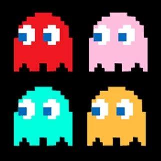 pacman ghost colors arcade greatbitblog