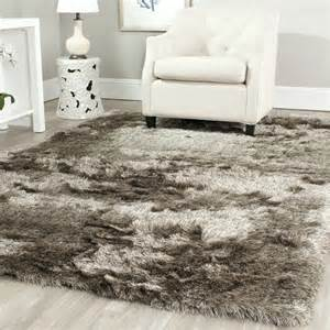 safavieh tufted silken shag area rugs sg511